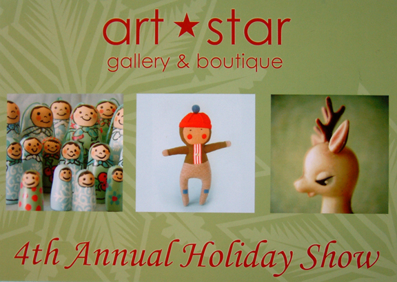 Art star winter show flyer