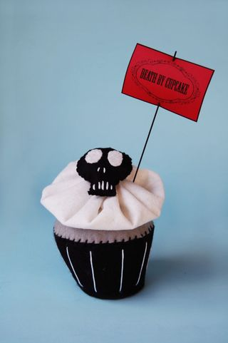 Death by cupcake print etsy